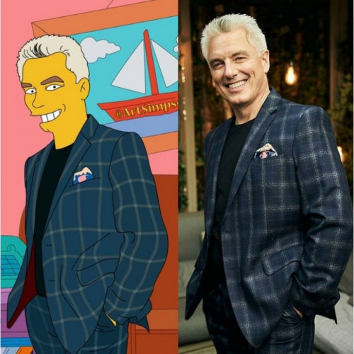 Simpsons Digital Portrait